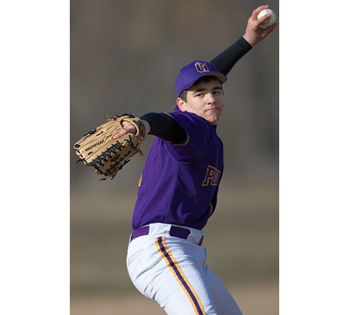 GARRET MEADE PHOTO | Greenport's starting pitcher, John Drinkwater, was charged with three earned runs and three hits over six-plus innings.