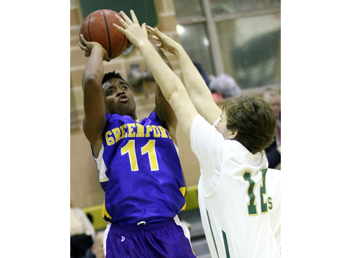 Greenport basketball player Tony Anderson 121616