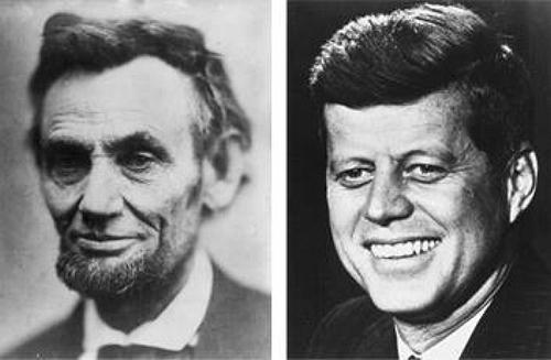 John F Kennedy Abraham Lincoln