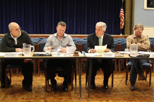 The Mattituck-Cutchogue school board (Credit: Jennifer Gustavson)
