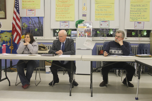 PAUL SQUIRE FILE PHOTO | The New Suffolk school board adopted next year's spending plan during a special meeting Thursday night.
