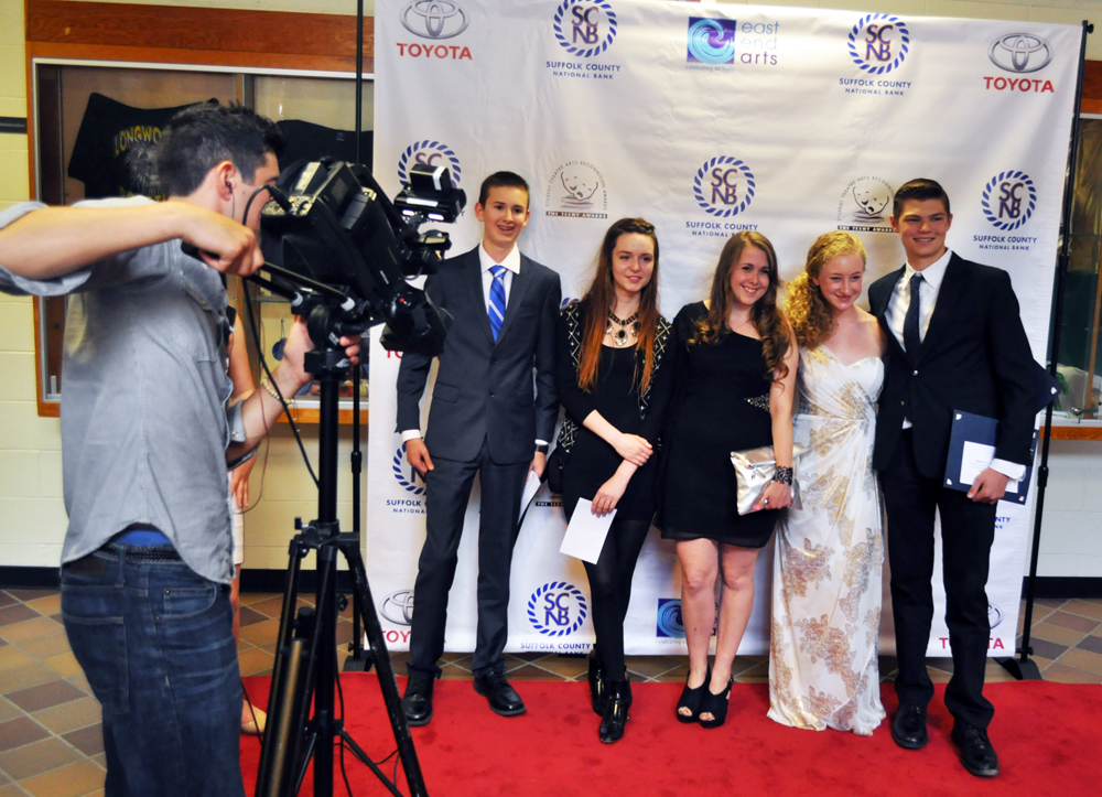 Southold High School's Teeny Award nominees for 2014. This year, the school has earned more nominations.