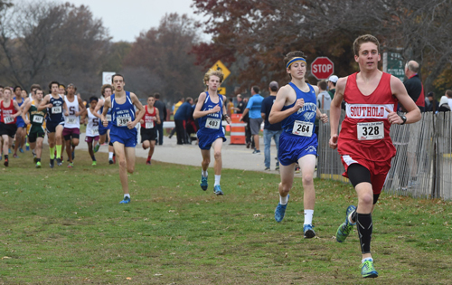 Southold runner Owen Klipstein 110615