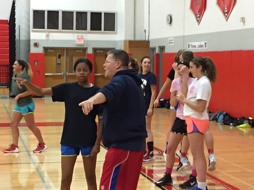 Southold:Greenport girls basketball coach Skip Gehring 112116