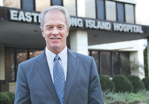 CARRIE MILLER PHOTOEastern Long Island Hospital CEO Paul Connor.