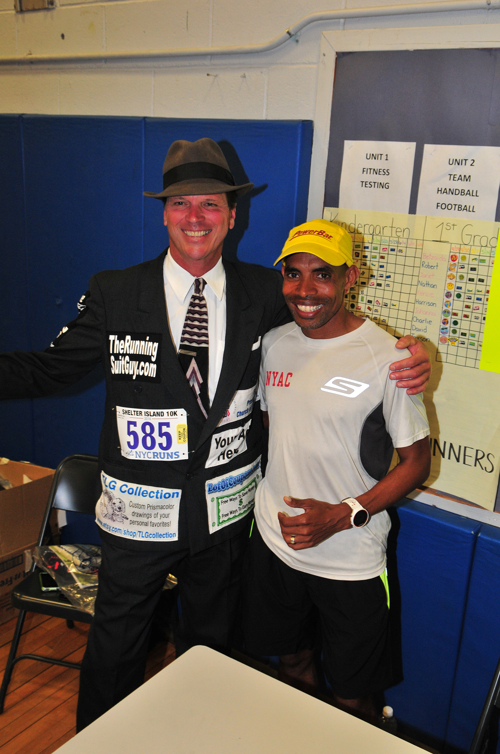 Boston Marathon winner Meb Keflezighi won a silver medal in the 2004 Olympics in Athens, Greece. (Credit: Bill Landon)